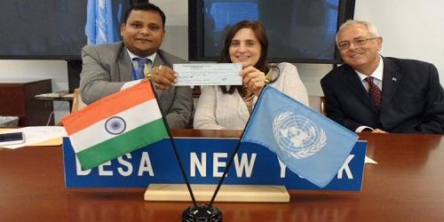 India contributes $1 mn to UN Development Partnership Fund