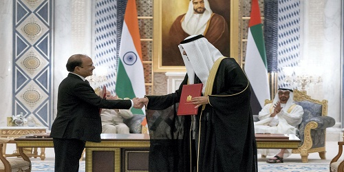 India signs first concessional agreement with UAE in oil sector