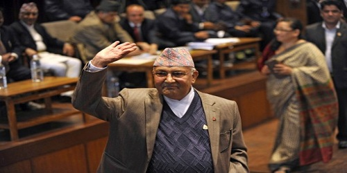 KP Sharma Oli named as Nepal's next Prime Minister