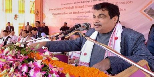Nitin Gadkari lays foundation stone for National Technology Centre for Ports, Waterways and Coasts (NTCPWC) at IIT Chennai