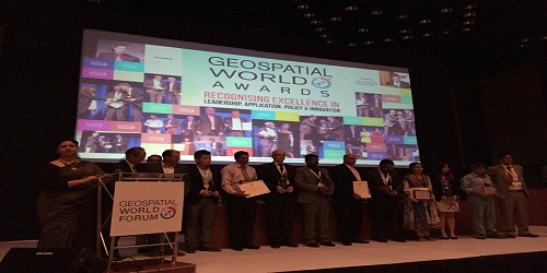 Odisha wins Geospatial world excellence award