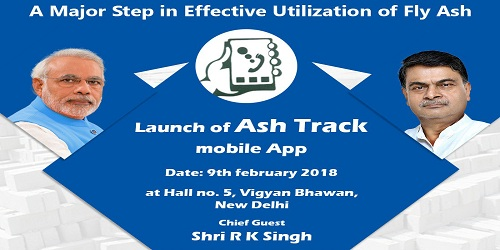 RK Singh launches ASH TRACK Mobile App for better management of fly ash