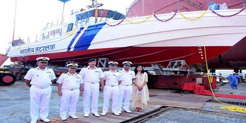 Sixth interceptor boat V-410 for Coast Guard launched