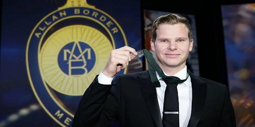 Stevan Smith wins Australia's Border Medal