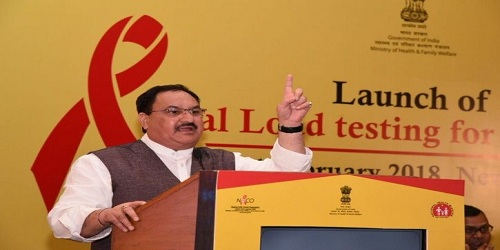 Union Health Ministry launches Viral Load test for People Living with HIV AIDS