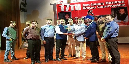 17th Sub-junior National Wushu Championship begins in Jammu