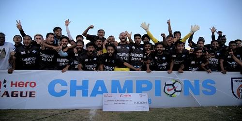 2017-18 I-League - Minerva Punjab FC crowned champions