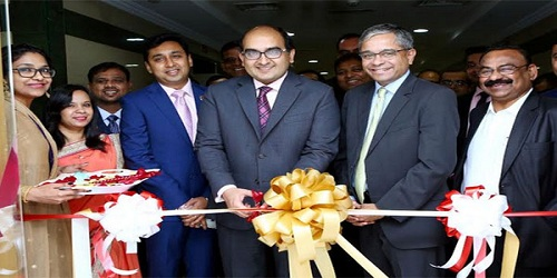 Axis Bank opened a representative office in Sharjah, which is 3rd office in UAE