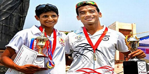 Bishworjit Singh, Samira Abraham clinch gold medals at National Triathlon Championship