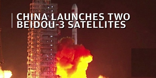 China launches another pair of BeiDou-3 navigation satellites into space
