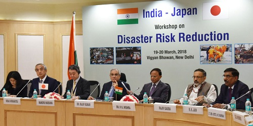 First India-Japan Workshop on Disaster Risk Reduction inaugurated in New Delhi