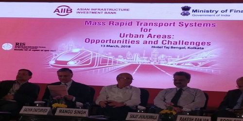 First Regional Conference on Mass Rapid Transport Systems for Urban Areas held in Kolkata