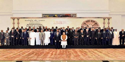 Founding Conference of International Solar Alliance held in New Delhi'
