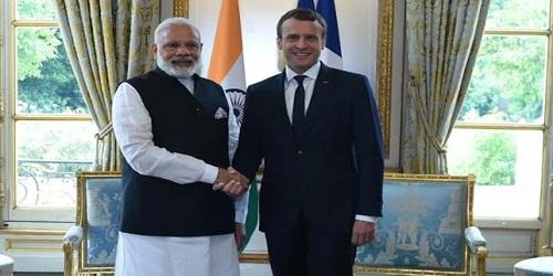 French President Emmanuel Macron's India Visit