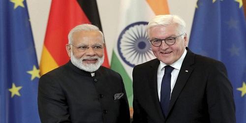 German President Frank-Walter Steinmeier visits India