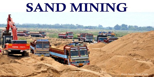 Government launches Sand Mining Framework to check illegal extraction