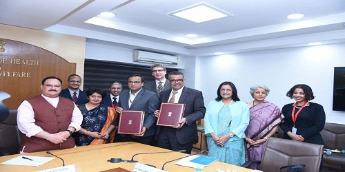 Health Ministry and WHO sign an Agreement for enhanced cooperation in health sector