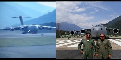 IAF's largest transport aircraft C-17 Globemaster makes historic landing in Arunachal Pradesh