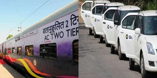IRCTC ties up with Ola Cabs for booking cab on its website and app