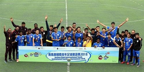 India U-16 football team wins Jockey Cup International Youth Invitational Football Tournament
