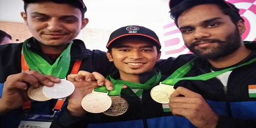 India topped medal tally at ISSF Shooting World Cup 2018