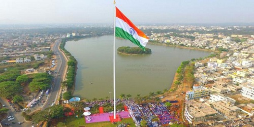 India's tallest tricolour hoisted in Belagavi, Karnataka