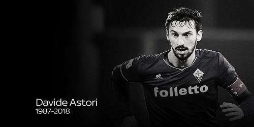 Italian footballer Davide Astori dies aged 31