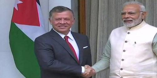 Jordan's King Abdullah II's visit to India - Overview