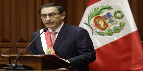 Martin Vizcarra Sworn in as President of Peru