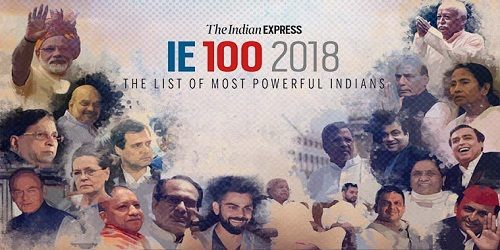 PM Narendra Modi tops Indian Express list of most powerful Indians