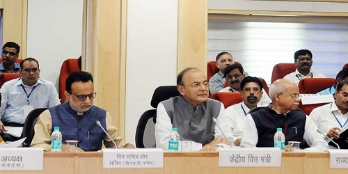 GST Council Meeting held in New Delhi
