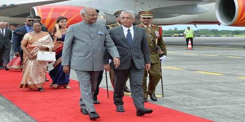 President Ram Nath Kovind Visit to Mauritius & Madagascar