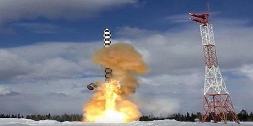 Russia tests new nuclear ICBM Sarmat