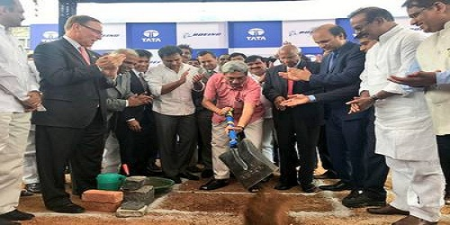Tata-Boeing joint venture established aerospace facility in Hyderabad