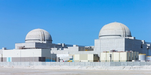 U.A.E. Completes First of Four Korean-Built Nuclear Reactors