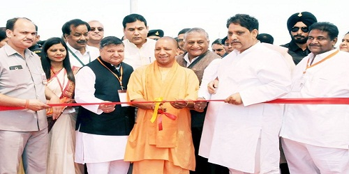 UP CM inaugurates India's Longest Elevated Road in Ghaziabad