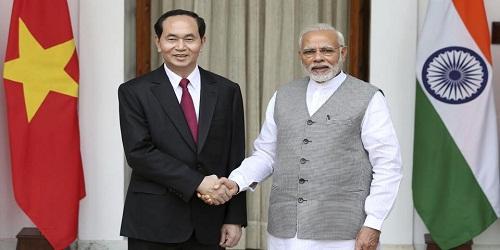 Vietnam President Tran Dai Quang's India Visit