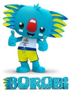 2018 Commonwealth Games Borobi