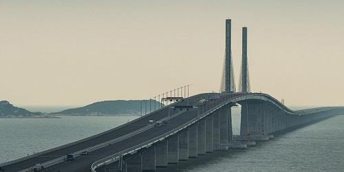 China set to unveil world's longest sea bridge