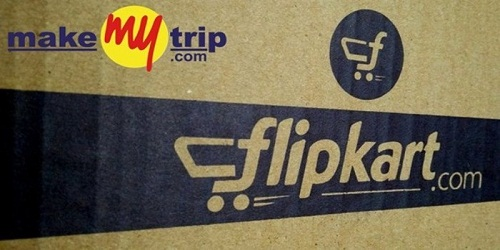 Flipkart signed a pact with MakeMyTrip
