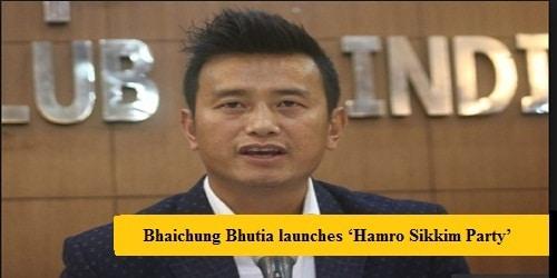 Bhaichung Bhutia launches 'Hamro Sikkim Party'