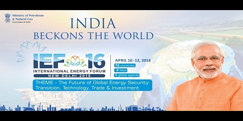 India hosts 16th International Energy Forum (IEF) Ministerial Meeting