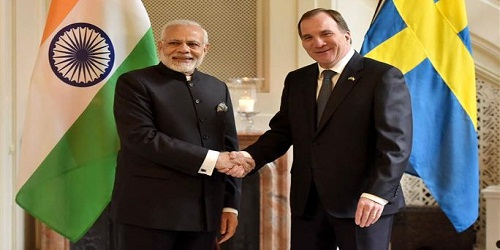 Visit of Prime Minister of India to Sweden (16-17 April 2018)