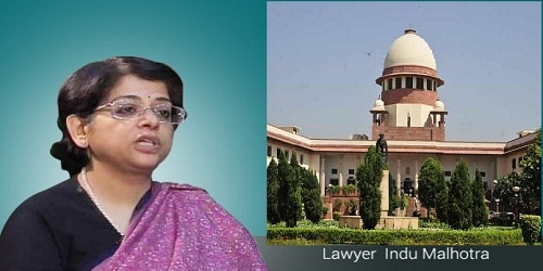 Indu Malhotra first woman lawyer to become SC judge