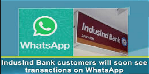 IndusInd Bank to use WhatsApp for customer service