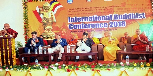 International Buddhist Conference held in Lumbini, Nepal