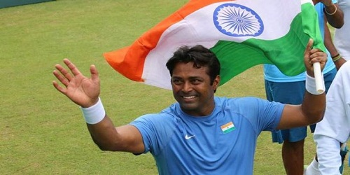 Indian tennis ace Leander Paes won Davis Cup which is his 43rd win