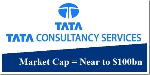 TCS inches closer to become first Indian company with $100 bn market cap