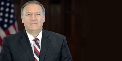 Mike Pompeo sworn in as US secretary of state