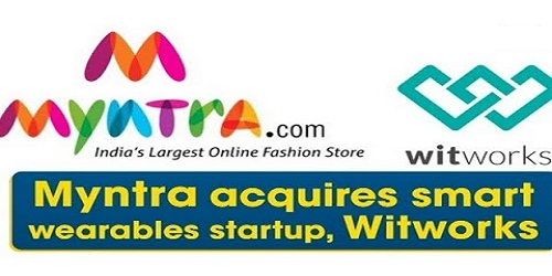 Myntra acquires smart wearables startup, Witworks